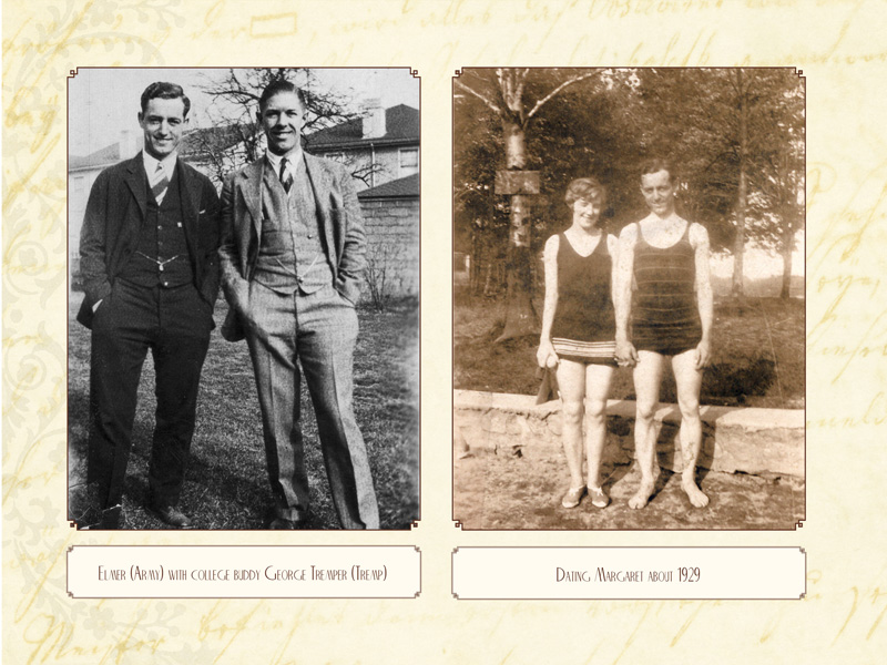 Photos, if you have them, with captions, will bring the genealogical data to life.