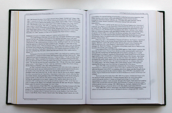 This book's narrow margins and wide columns in a large book can cause greater eyestrain when reading.  Not to mention that it looks kind of boring.