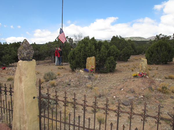 Our annual graveside memorial service at the family ranch in Southern Utah, where my Uncle Glendon and two of his children are buried.