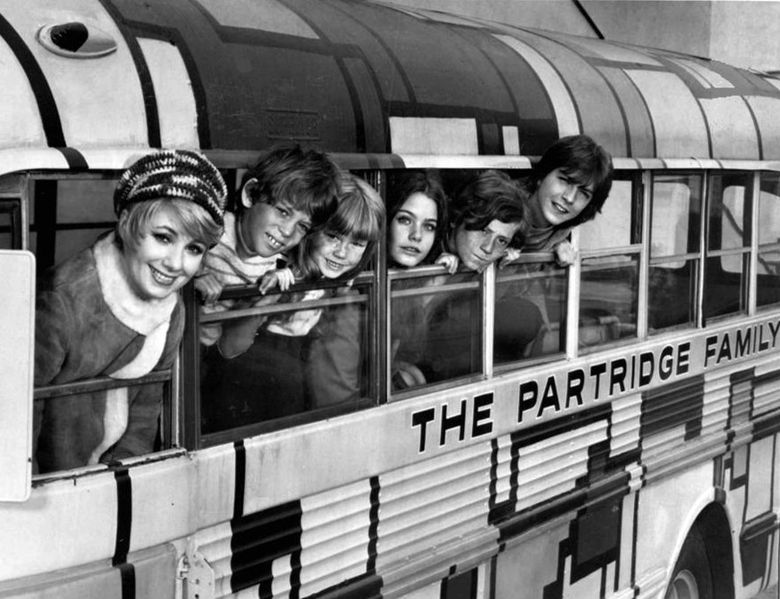 """Okay, so I was weirdly obsessed with the Partridge Family, and wanted to include a photo in a book about my childhood. This image from Wikimedia Commons states in the licensing agreement """"This work is in the public domain in that it was published in the United States between 1923 and 1977 and without a copyright notice."""" Because it is in the public domain, I can safely use it in my book."""