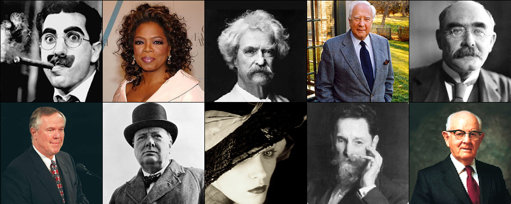 Our top ten favorite quotes to help you write about your life.