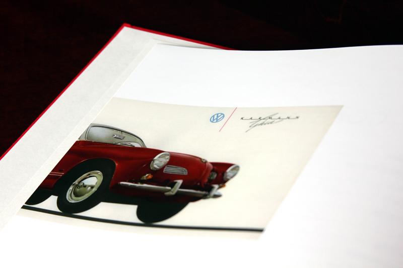 Merline was often seen zipping around SLC in a snappy Karmann Ghia Volkswagen.