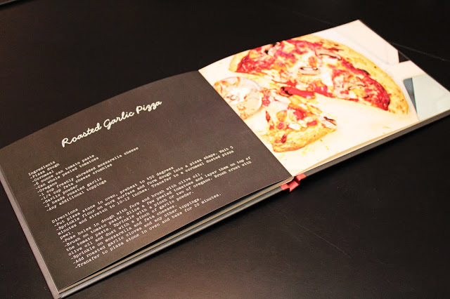 Here's a great example of a cookbook done using Shutterfly.