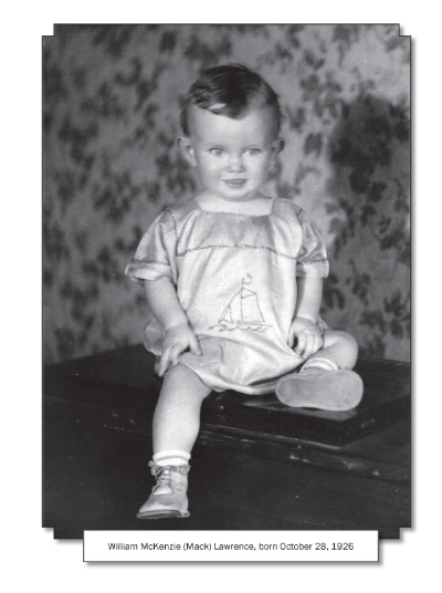This is the first photo in the book, so the captioncontains the full name and date to introduce the subject. Subsequent photos of the subject in the book use only his first name, since the book is about him.