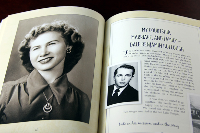 Once you have decided what to keep, display the most special finds in a family history book.