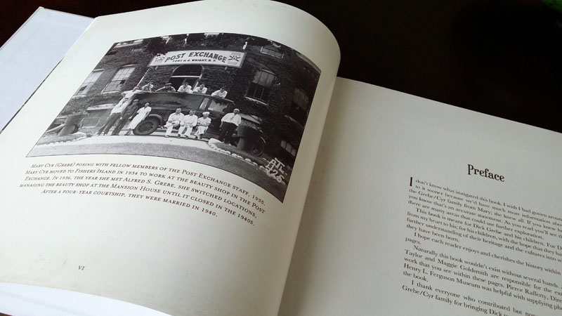 A preface, written by our client about her research journey, was added to the beginning of the book along with a family photo.