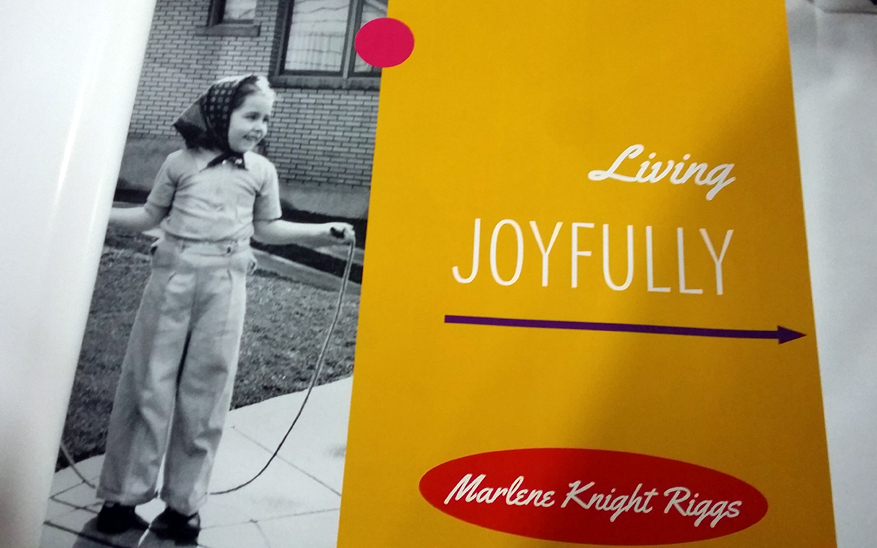 This autobiography is all about living joyfully.