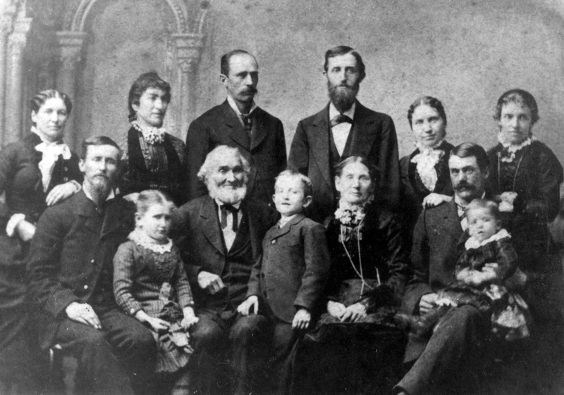 This photo has enormous genealogical value as it is the only photo taken of this family all together. Because we can identify each person by their relative age and relationship, we used this photo as a reference to identify other individual photos in the collection.
