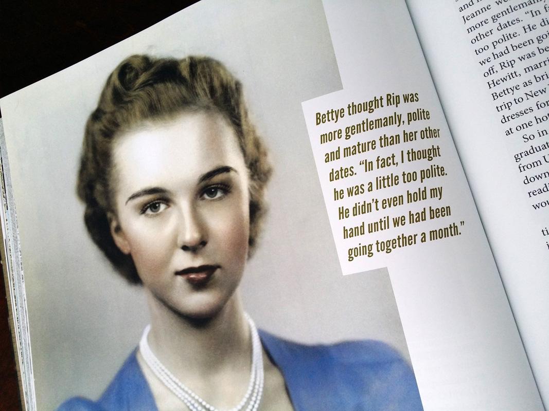 A young Bettye Jean Bean, c. 1940