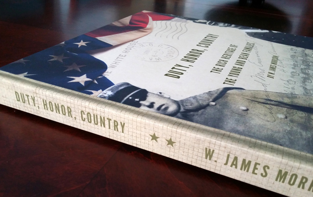A stunning coffee-table book that tells the story of a multi-generational military family.