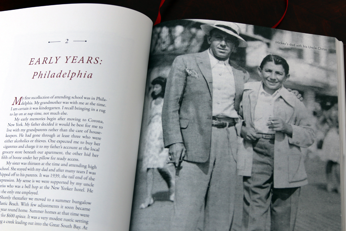 This lovely book began as a stack of typewritten life stories collected over the years.