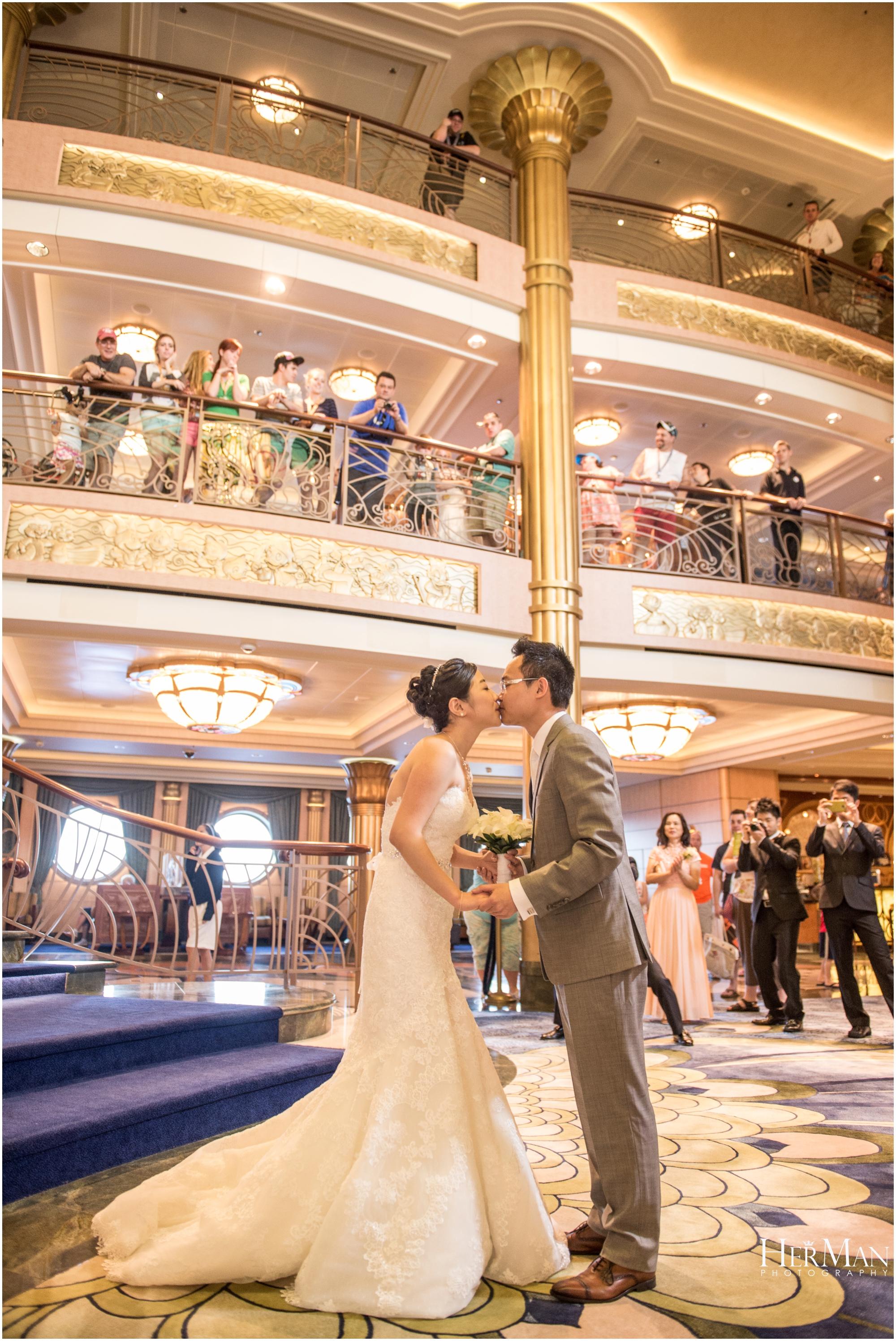 Disney Cruise Wedding.Disney Cruise Destination Wedding Mamie Toby Herman