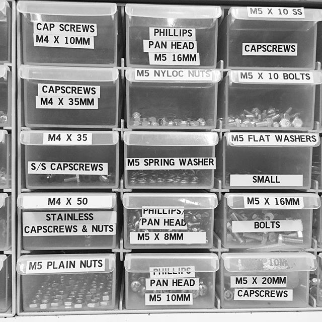 Bits and bobs, nuts and bolts.... #nuts #bolts #screws #fixing #building #maintenance #workshop #fixit #lighting #tools
