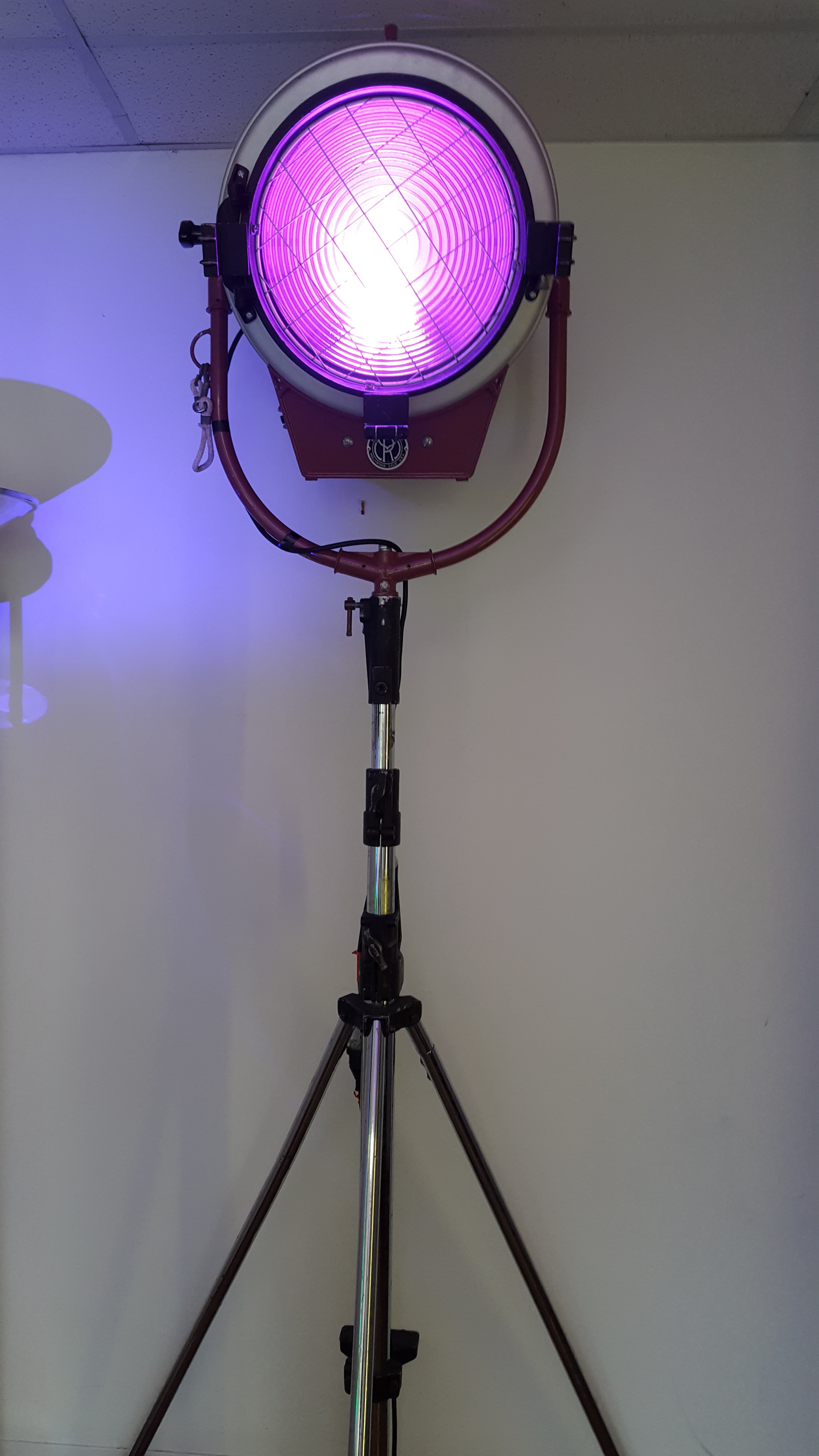 5K Fresnel with LED fixture
