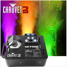 Chauvet Geyser P6 RGBA+UV Smoke Machine