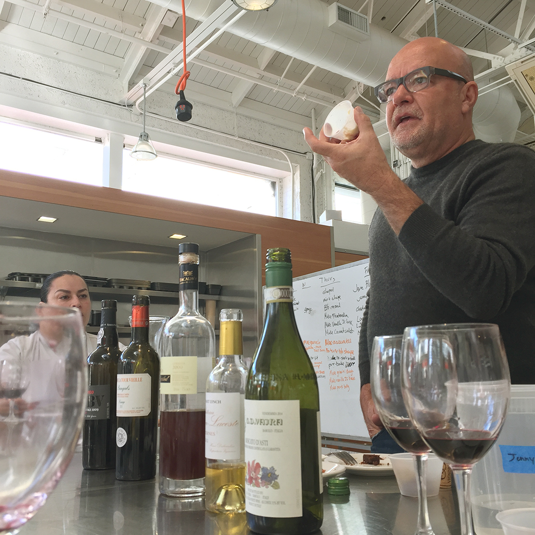 Dessert wine tasting with Eugenio Jardim
