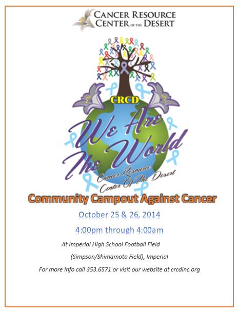 Campout Flyer2014