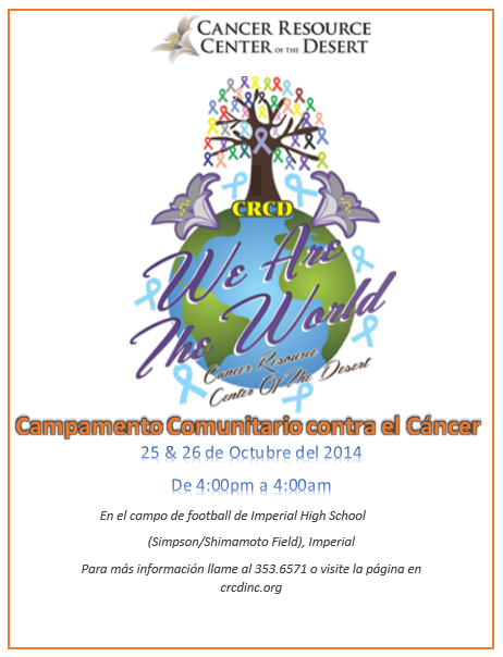 Campamento Comunitario CRCD2014