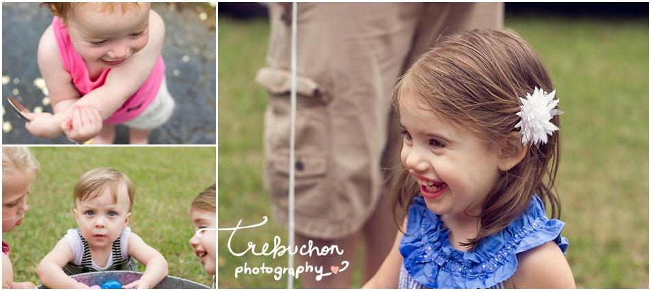 Even the littles had fun!