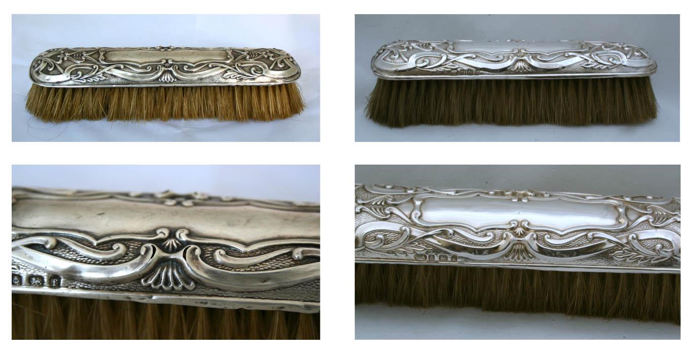 antique hairbrush with hallmarks repair.jpg