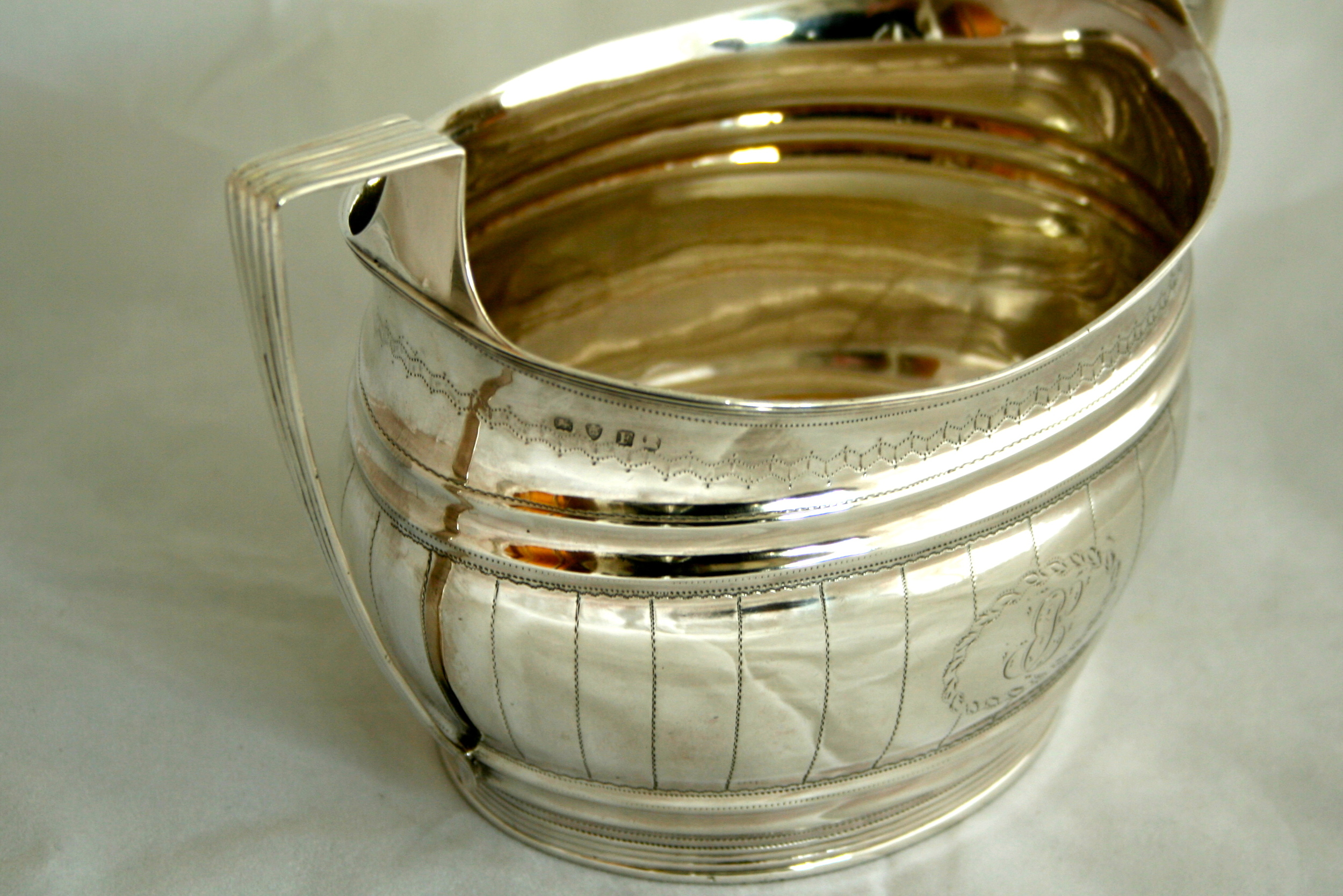 restored antique silver sugar bowl.JPG