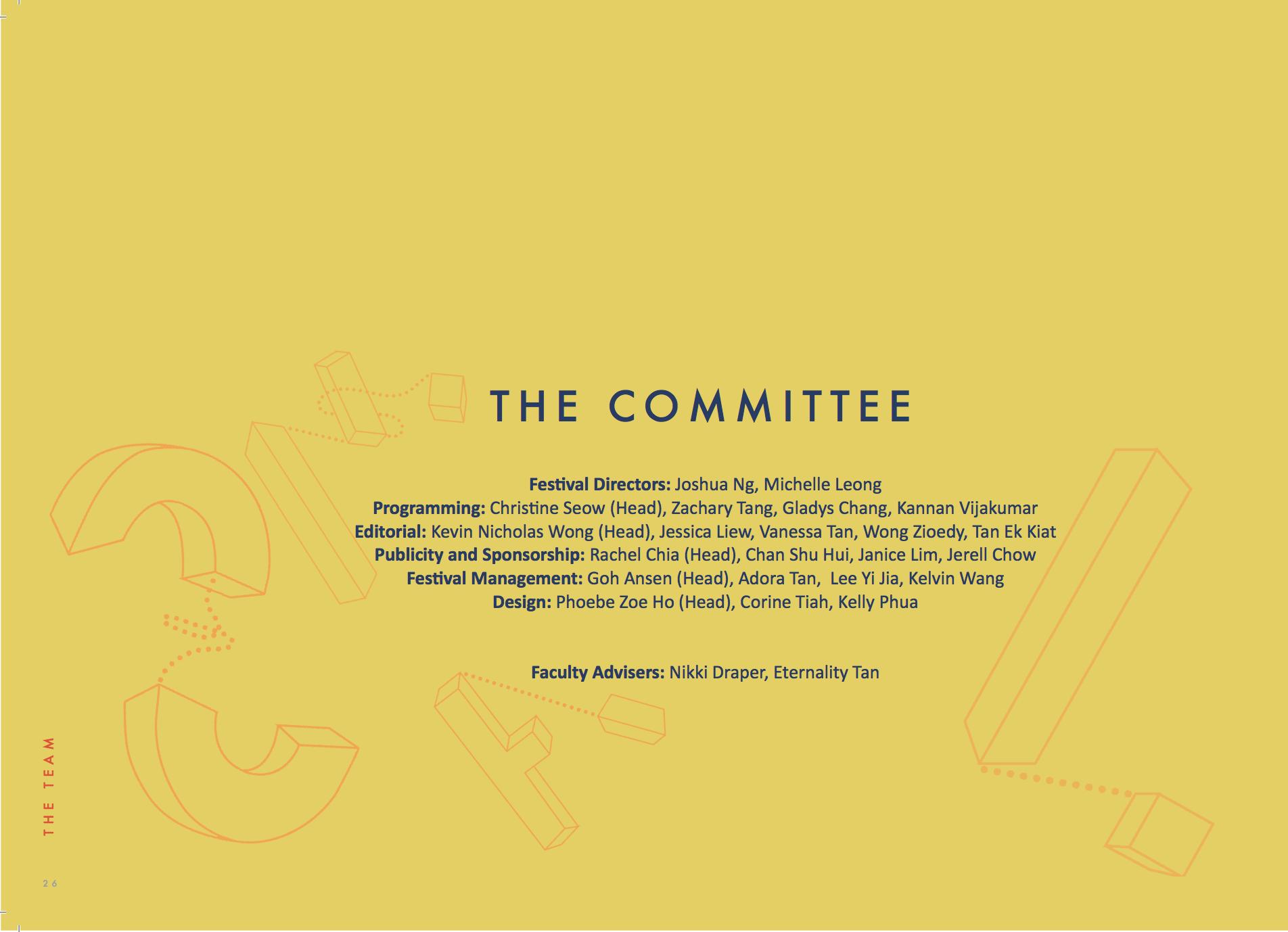 Perspective Film Festival 2016 Booklet