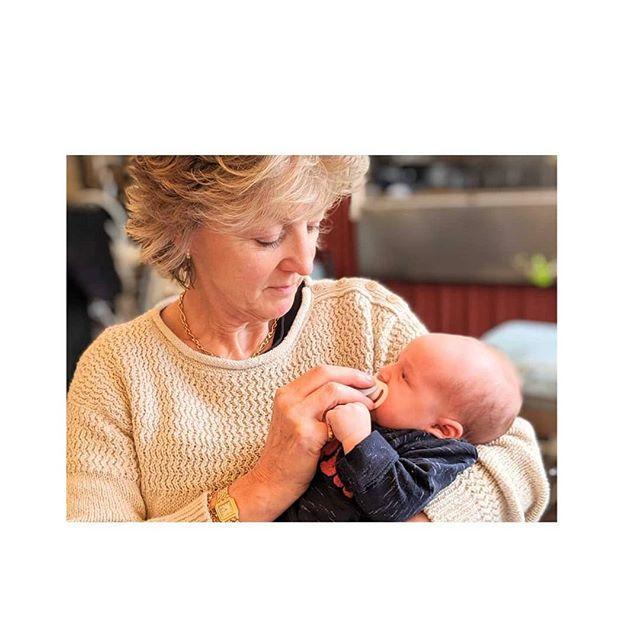 Successful grandmothering.