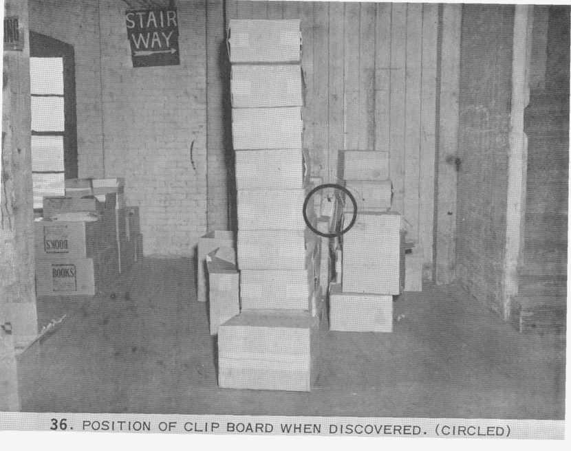 Photo 47- Sixth Floor area near stairway with Oswald clipboard.jpg