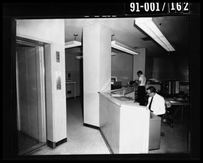 Photo 7- Dallas Police Jail elevator and office.jpg