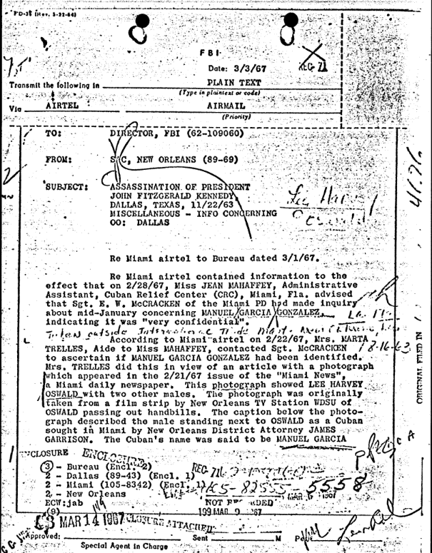 FBI 105-82555 Oswald HQ File, Section 232 p. 1.png