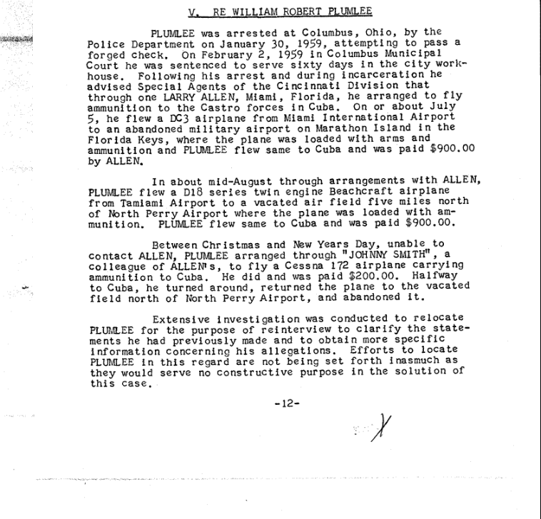 Plumlee Customs Claims and Arrest in 1959 p. 1.png
