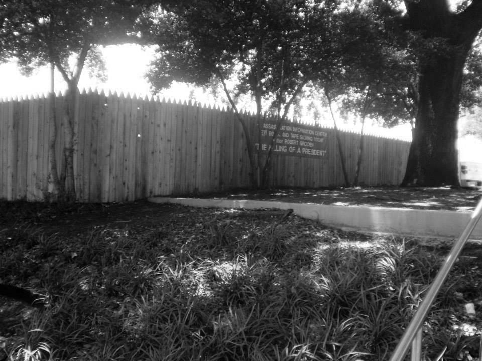 Photo 27- Corner of the picket fence on the Grassy Knoll B&W.jpg