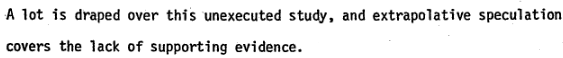 reply of CIA ASST. Inspector General S.D. Breckenridge to Accusations leveled by the HSCA Staff