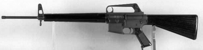 Pictured above is An example of the AR-15 RIFLE Associated with the claims made by advocates of this specific theory