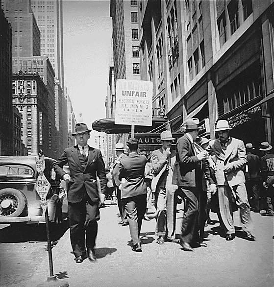 The Streets of NEw York City CIRCA 1934