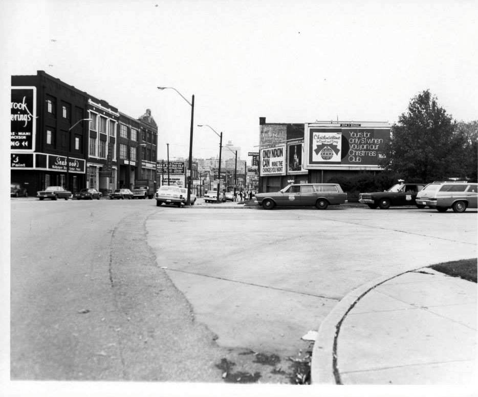 Photo 4- Butler Avenue and South Main Street, the Fire Station is to the right and the Boardinghouse is ahead.jpg