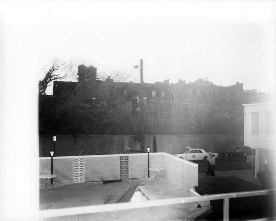 Photo 37- Lorraine Motel balcony view across Mulberry Street at the suspected sniper's nest.jpg