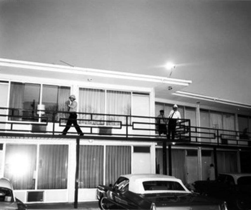 Photo 40- Lorraine Motel following Dr. King's assassination.jpg