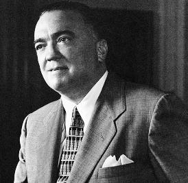 Federal Bureau of Investigation Director John Edgar Hoover