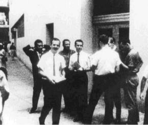 Oswald Handing out FPCC Flyers in New Orleans
