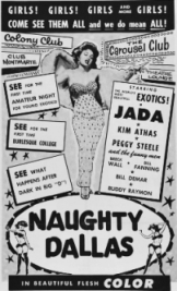 A Promotional FLyer for Ruby's CArousel CLub