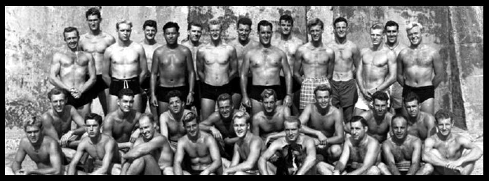 the OSS Maritime Unit Trained Swimmers at GUANTANAMO Bay During 1944 in Cuba