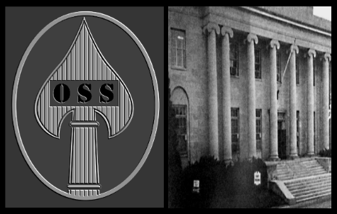 Oss Headquarters was located in multiple office Buildings inside Washington D.C.