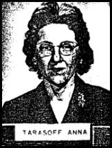 translator Anna Tarasoff