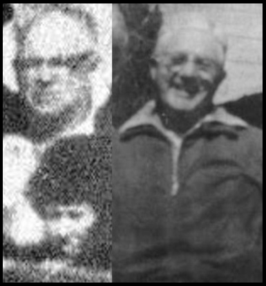 An Unidentified SPectator (AT LEFT) some Call Milteer is NOted To be heavily Balding in 1963, MiLteer (AT RIGHT) in a Photograph Years After the Assassination has a Full Head of Hair. This is Just One of the Multiple Differences Between the Men