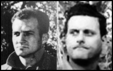 The DEALEY PLAZA TrAMP Some CLaimed was Sturgis (AT Left) and Frank Sturgis (AT Right) Differing Facial Traits, Hairline, and Physique support they are two different Men