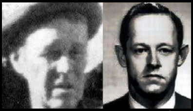 THE DEALEY PLAZA TRAMP SOME CLAIMED was Hunt (At LEft) E. Howard Hunt (At Right) Investigators Determined They were Two Different MEn BASED ON AGE AND FACIAL TRAITS