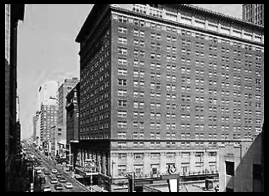 THE IMPERIAL CLUB was LOCATED INSIDE THE BAKER HOTEL