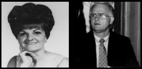 Mrs. GenevA Dees (WHITE) and The Family's Religious Adviser THE Reverend Jack Shaw (Credit to: THe Mary Ferrell Foundation and Dave Perry's JFK Assassination Pages)