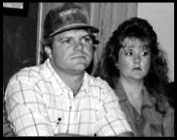 Ricky and Tricia White At A Press Conference about their Claims (Credit: to: D. Perry's JFK Assassination Pages)